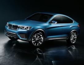 Những hình ảnh đầu tiên về xe BMW X4
